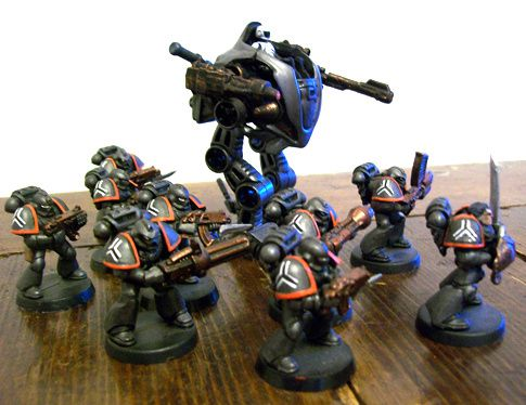 space marines Angeli-sanguinari