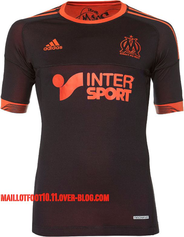 om-maillot-12-13-third-reversible